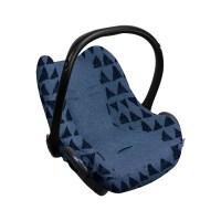 Dooky Seat Cover 0+ - Babyschalenbezug / Blaues Tribal