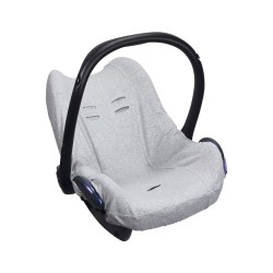 Dooky Seat Cover 0+ - Babyschalenbezug / Hellgrau meliert