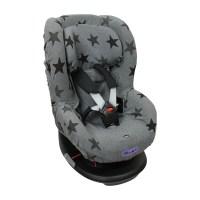 Dooky Seat Cover 1 - Auto-Kindersitzbezug Gruppe 1 / Graue Sterne