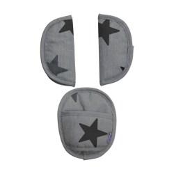Dooky Universal Pads - Universal-Gurtpolster für die Babyschale /...