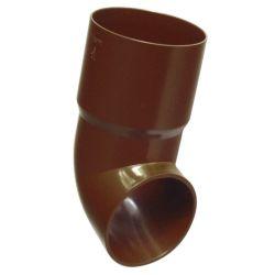 Fallrohrauslauf 90 mm für 125 mm Kunststoff Dachrinne