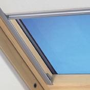 """VELUX-Innenrollo RFL für Fenstergröße C06 """"9050 dunkelblau"""""""