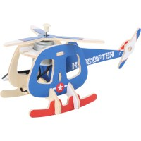 Holzbausatz Solarhelikopter