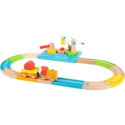 Holzeisenbahn Junior Kran