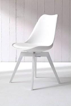 Tenzo Stuhl BESS weiß/weiß 2er Set