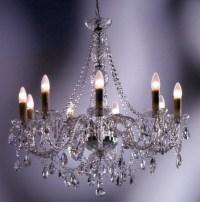 1B KARE Design Hängelampe Gioiello Kristall Clear 9er