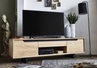 KAWOLA TV-Bank REEMA Lowboard 2-Türig Eiche massiv