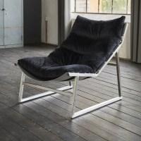 KAWOLA Relaxsessel SIRO Sessel Stoff schwarz