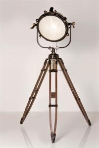 Kare Design Stehlampe Spot Jumbo Brass