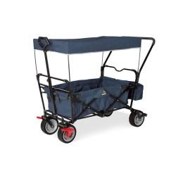 Klappbollerwagen 'Paxi dlx Comfort' mit Bremse, marineblau