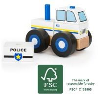 Konstruktionsfahrzeug Polizei