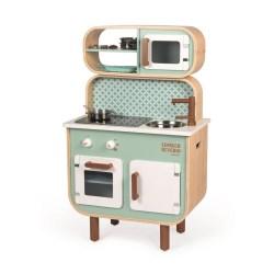 Küche Reverso gross (2-seitig) mit Funktionen (Inkl. 6 Teile...