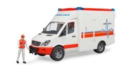MB Sprinter Ambulanz mit Sanitäter