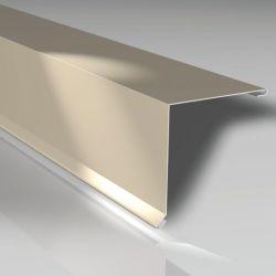 Pultabschluss 130 x 130 mm - Aluminiumblech 25 my polyester beschichtet