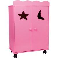 Puppenschrank, pink