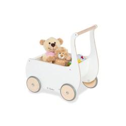 Puppenwagen 'Mette', weiß