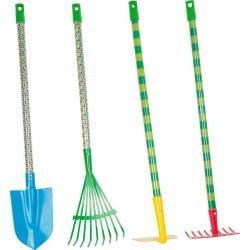 Raupe Nimmersatt Gartenwerkzeuge-Set
