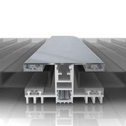 Thermo Aluminium Mittel Verlege Profil 60 mm Breite für Stegplatten
