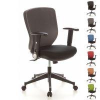 Bürostuhl SOFIA Schwarz-Grau aus Netzstoff