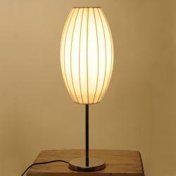 Tischlampe LOOP Ellipse Weiß 60cm Höhe