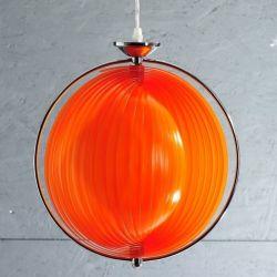 Hängelampe BOLA Orange 40cm Ø