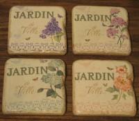 Untersetzer Jardin Flower