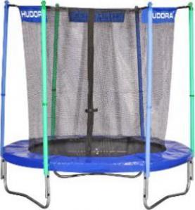 hudora fitness trampolin mit sicherheitsnetz 200cm