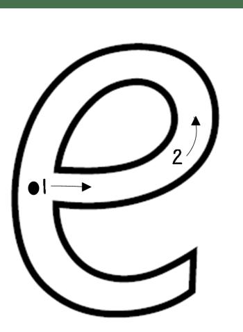 letter-e-formation