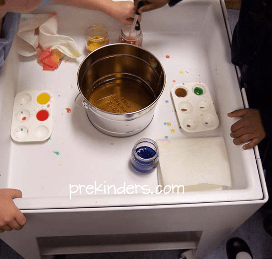 Bowl Water Pouring