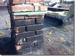 Cosul de fum este atacat de socurile termice