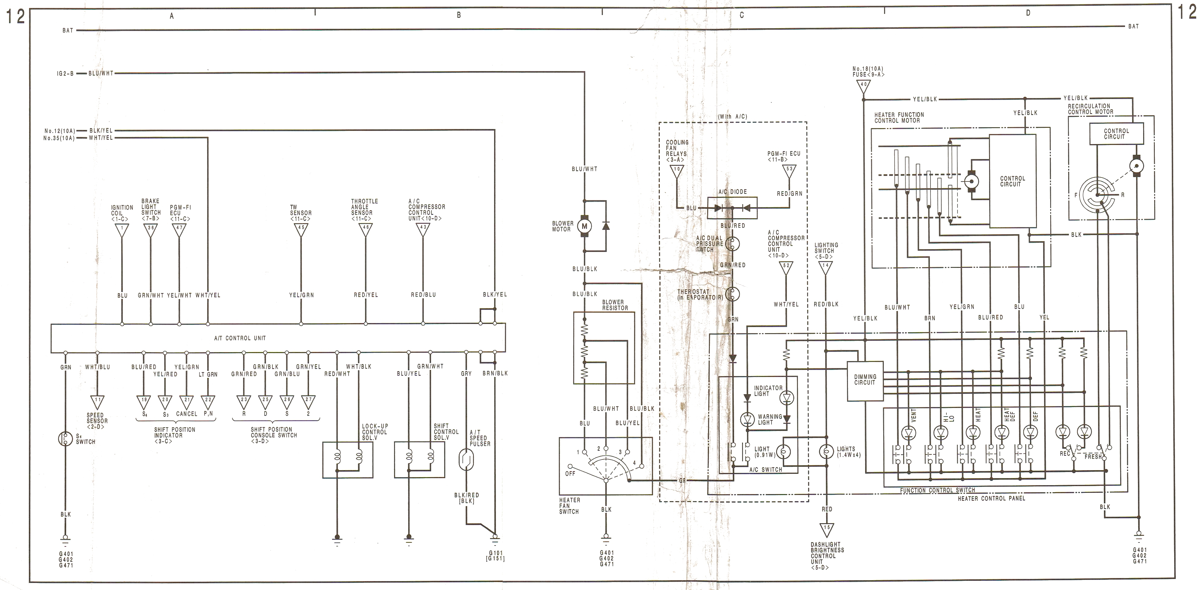 Wiring Diagram Mercede S430