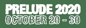 Prelude 2020 October 20-30 logo