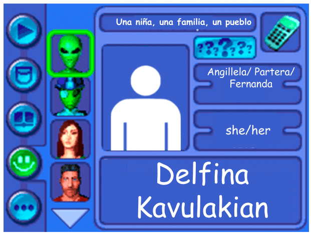 Performer Card for Delfina Kavulakian
