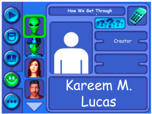 Performer card for Kareem M. Lucas