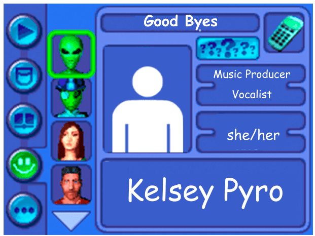 Performer card of Kelsey Pyro, Music Producer and Vocalist