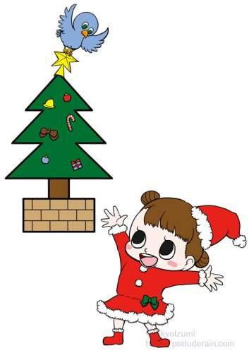 年間行事イラスト)12月)クリスマス