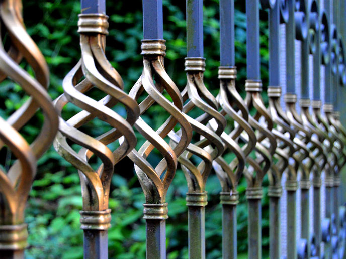 Iron and Gold Gate