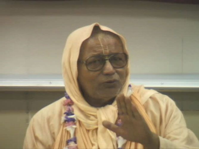 Srila Govinda Maharaj at UC Berkeley