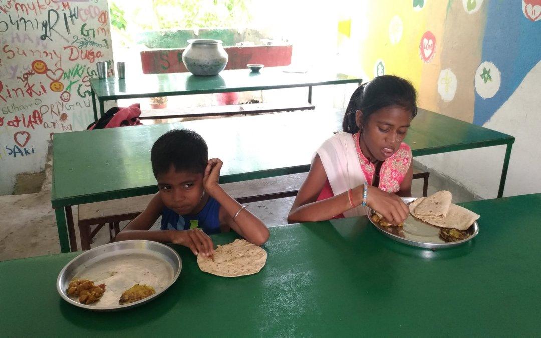 Meals for Children Living in school dormitories