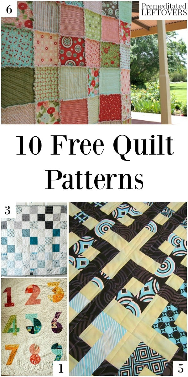 T Shirt Quilt Pattern Easy