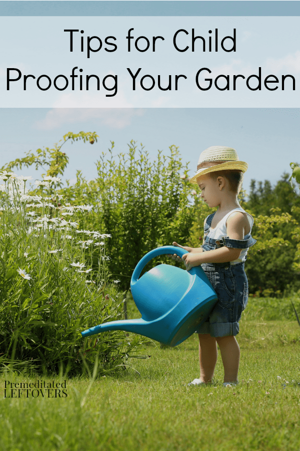 Even though gardens are fun and relaxing, they still can have safety hazards for young children. Here are some helpful Tips for Child Proofing Your Garden.