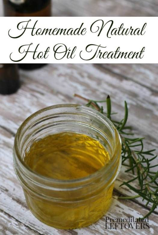 Diy Hot Oil Treatment For Hair How To Make A Natural