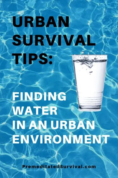 urban survival water