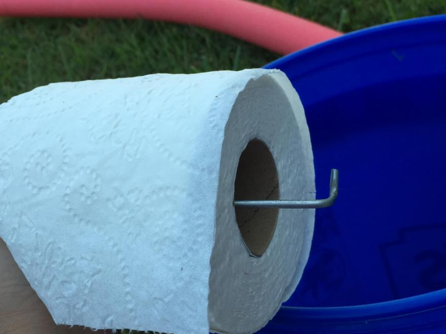 camping toilet ideas