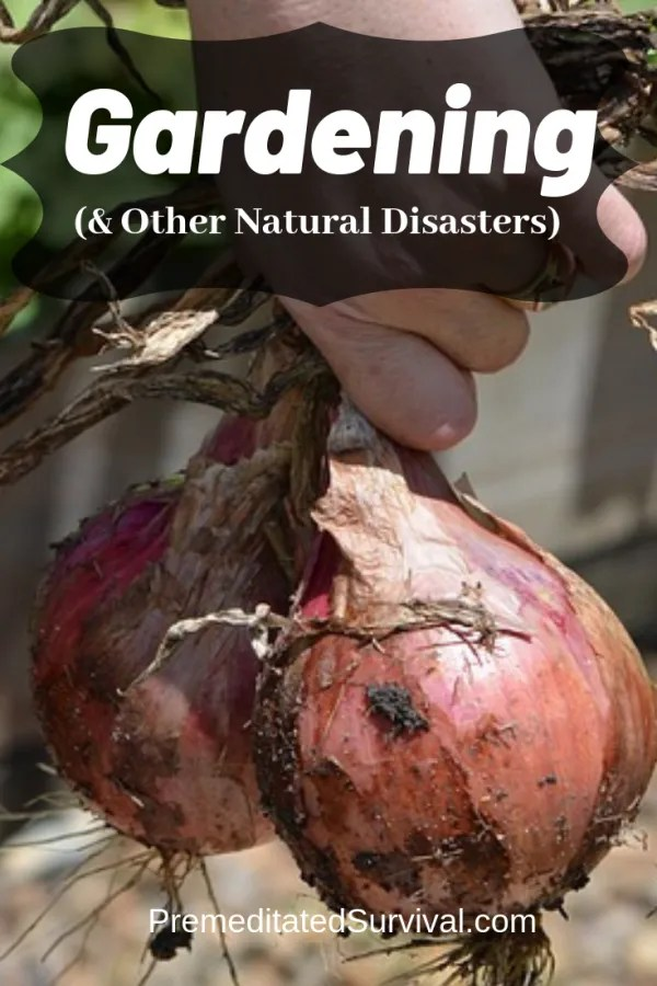 gardening and other natural disasters