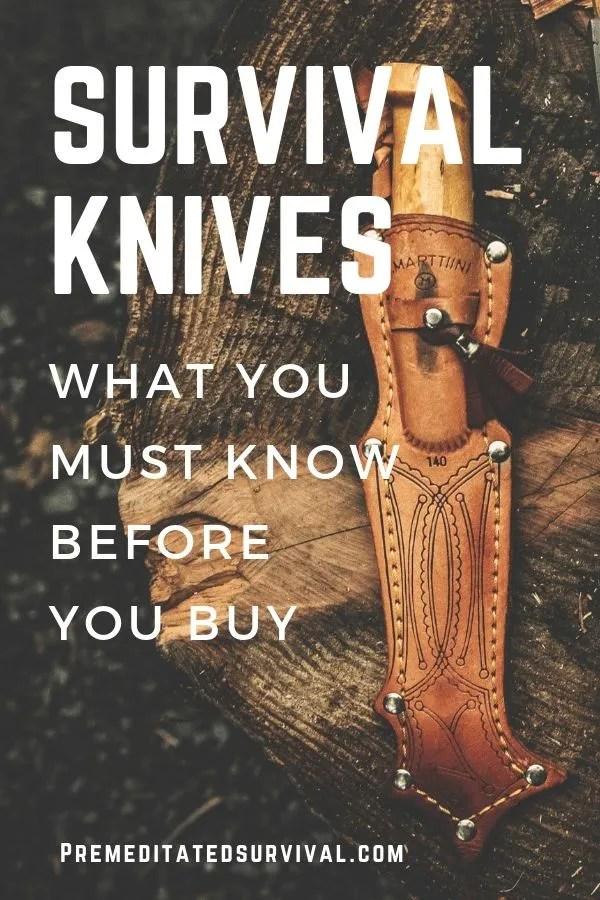 buy survival knife