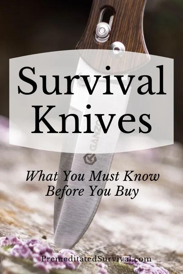 survival knives 1