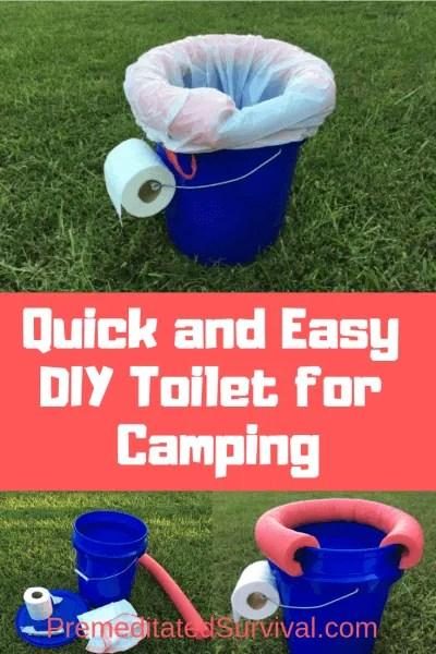 DIY Toilet for camping