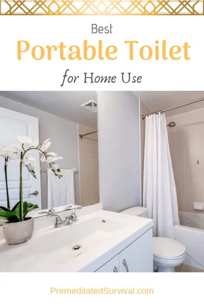 best portable toilet for home use