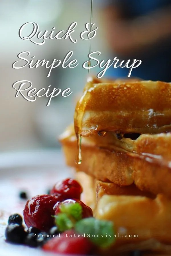 simple ssyrup recipe